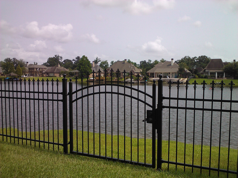 Wrought iron fences gates custom prairieville la